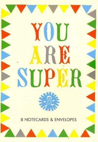You Are Super Thank-you Notecards (Cards)