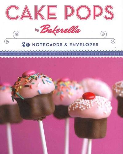 Cake Pops by Bakerella Notecards (Cards)
