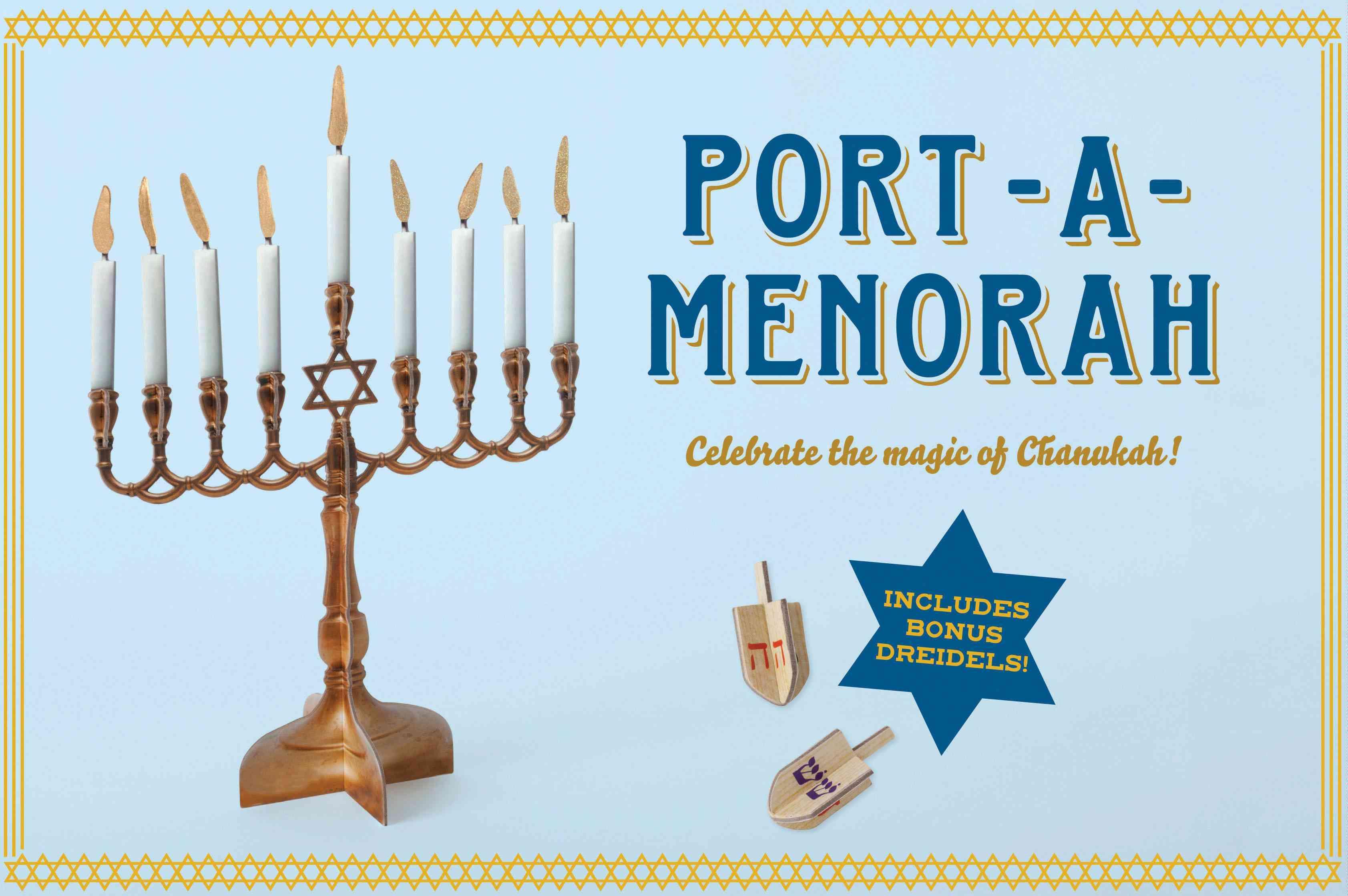 Port-A-Menorah: Celebrate the Magic of Chanukah (Hardcover)