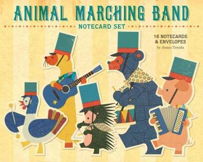 Animal Marching Band Notecard Set (Cards)