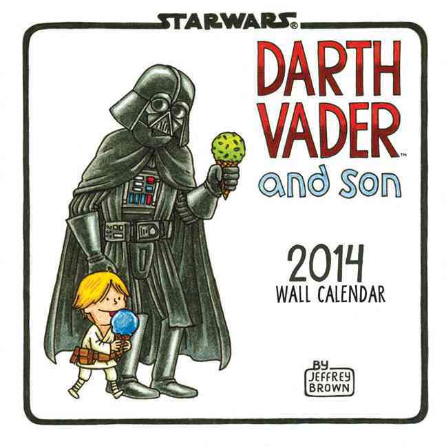Darth Vader and Son 2014 Calendar (Calendar)