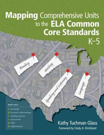 Mapping Comprehensive Units to the ELA Common Core Standards, K-5 (Paperback)