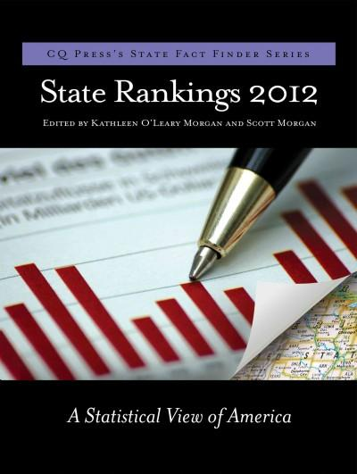 State Rankings 2012: A Statistical View of America (Paperback)