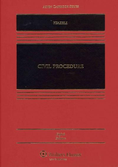 Civil Procedure (Hardcover) - Thumbnail 0
