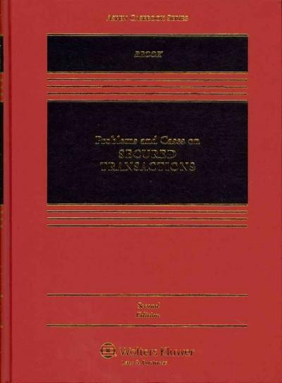 Problems and Cases on Secured Transactions (Hardcover)