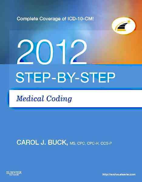 Step-by-Step Medical Coding 2012 (Paperback)