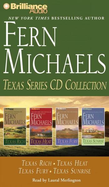 Fern Michaels Texas Series CD Collection: Texas Rich / Texas Heat / Texas Fury / Texas Sunrise (CD-Audio)