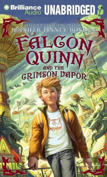 Falcon Quinn and the Crimson Vapor: Library Edition (CD-Audio)