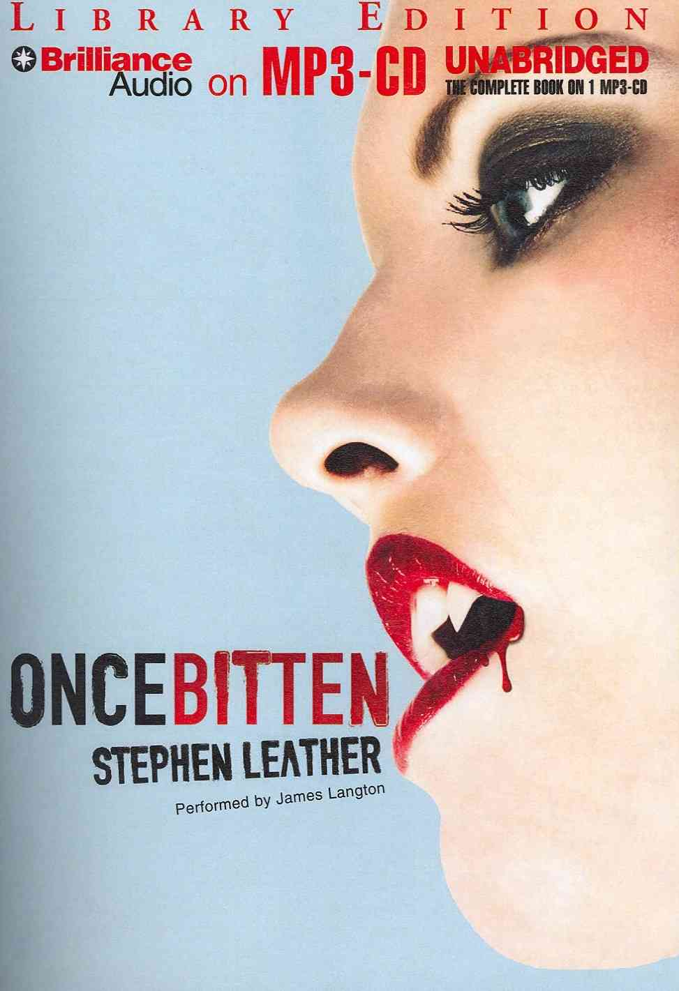 Once Bitten: Library Edition (CD-Audio)