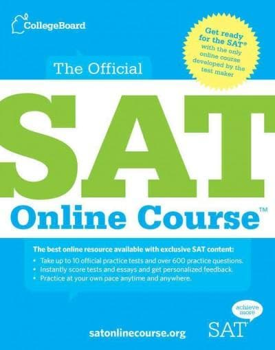 The Official SAT Online Course Access Code (Other merchandise)