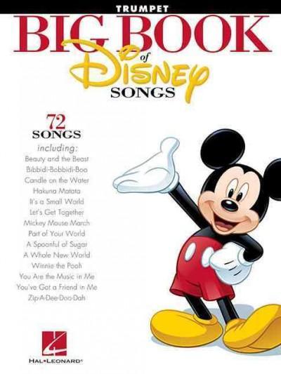 The Big Book of Disney Songs: Trumpet (Paperback)