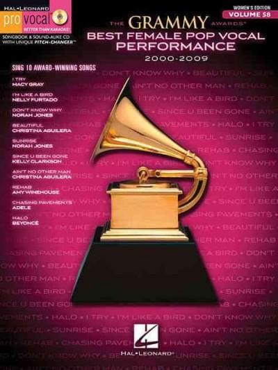 The Grammy Awards Best Female Pop Vocal Performance 2000-2009: Women's Edition