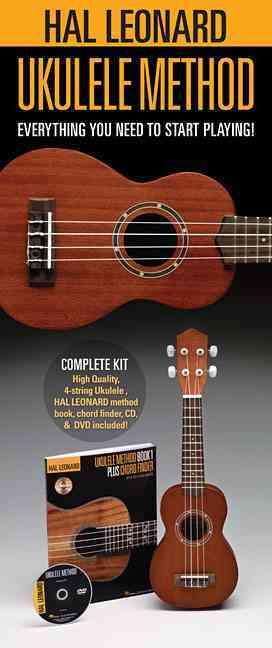 Hal Leonard Ukulele Method: Everything You Need to Start PlayingIncludes a Ukulele