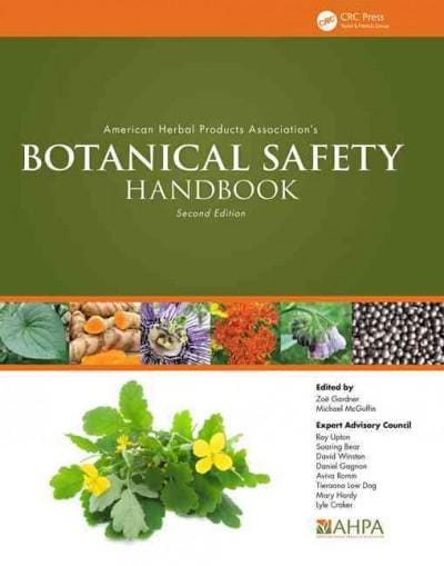 American Herbal Products Association's Botanical Safety Handbook (Hardcover)
