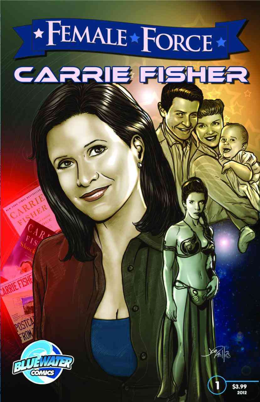 Female Force: Carrie Fisher (Paperback)
