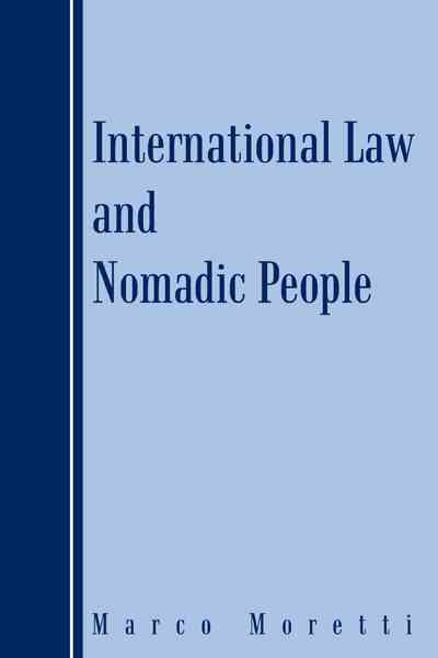 International Law and Nomadic People (Paperback)