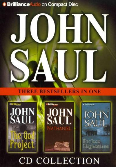 John Saul CD Collection: The God Project / Nathaniel / Perfect Nightmare (CD-Audio)