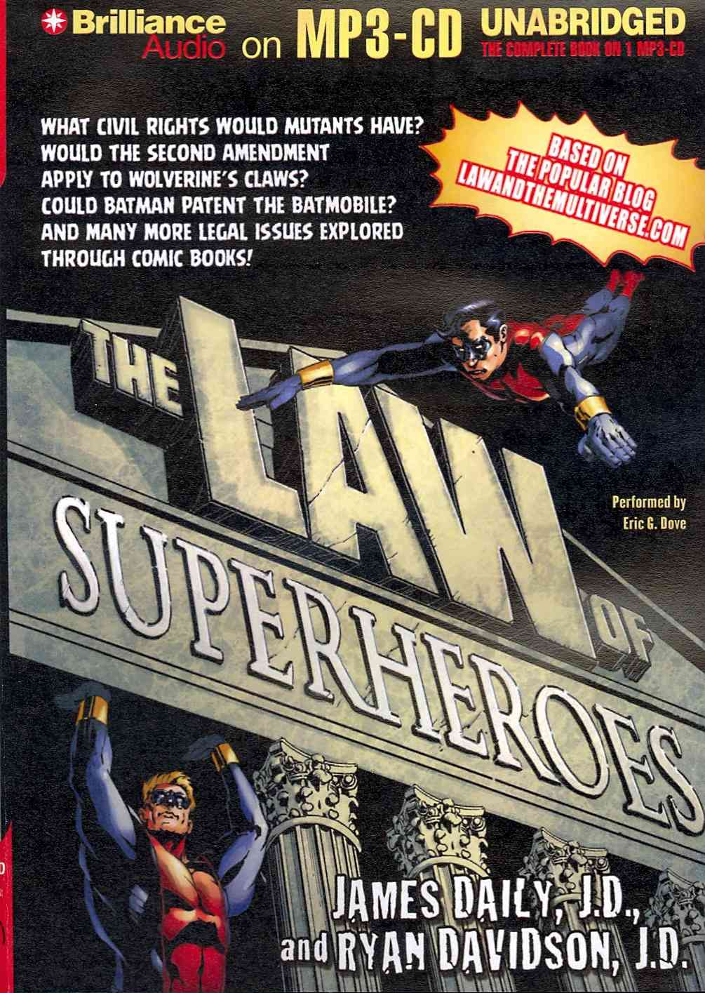 The Law of Superheroes (CD-Audio)