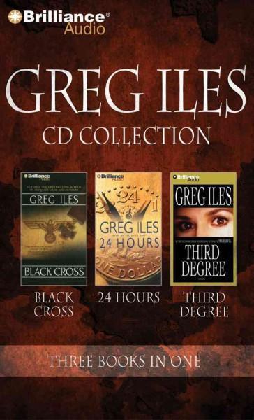 Greg Iles Cd Collection 4: Black Cross / 24 Hours / Third Degree (CD-Audio)