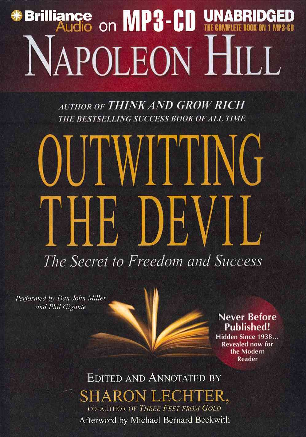 Outwitting The Devil: The Secret to Freedom and Success (CD-Audio)