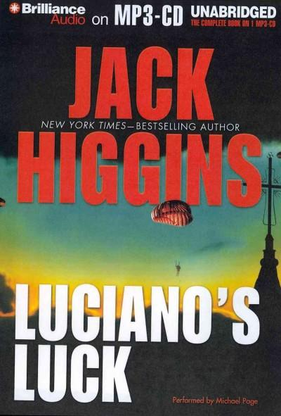 Luciano's Luck (CD-Audio)