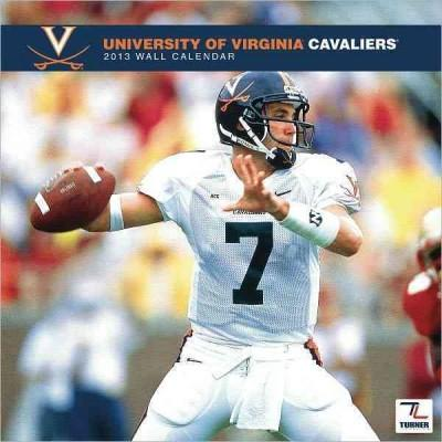 Virginia Cavaliers College 2013 Team Calendar
