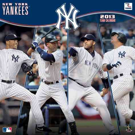 New York Yankees 2013 Team Calendar