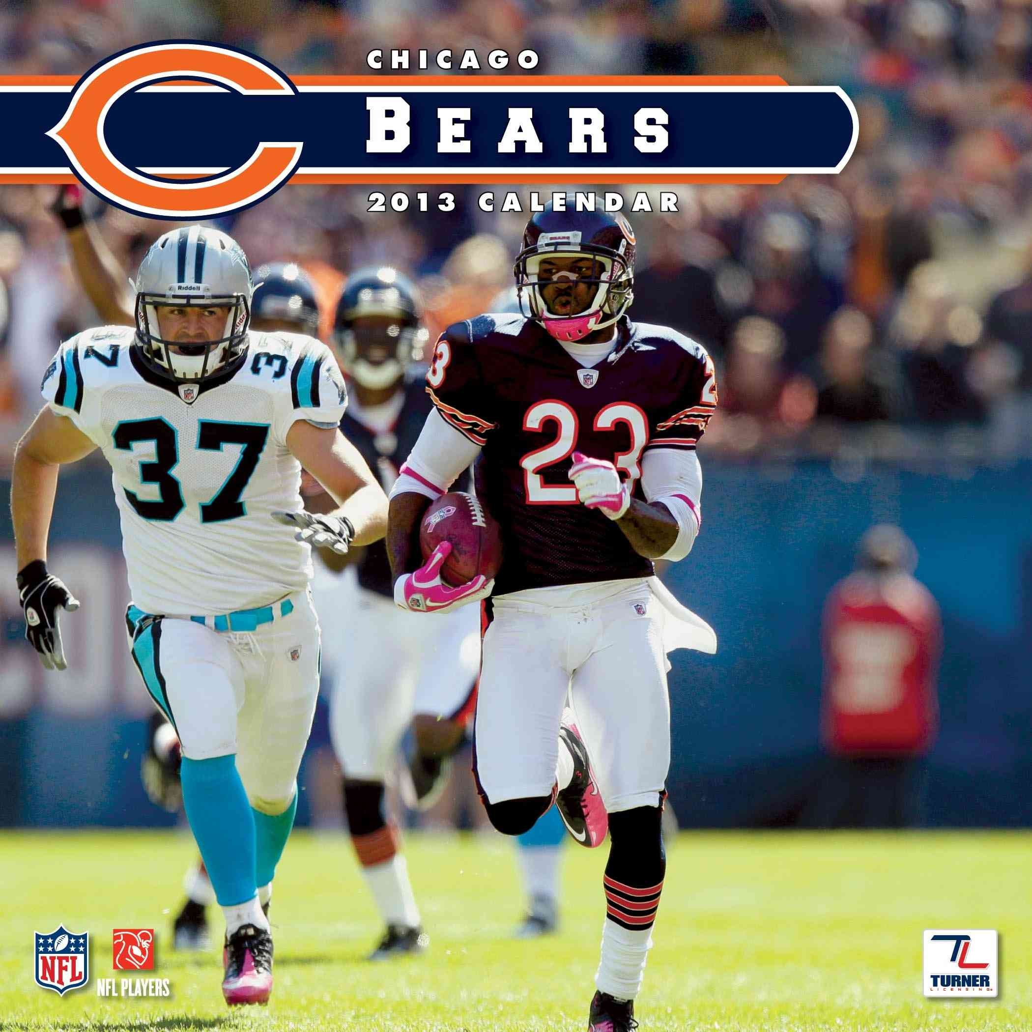Chicago Bears NFL 2013 Team Calendar (Calendar)