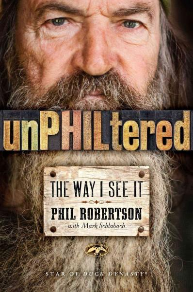 Unphiltered: The Way I See It (Hardcover)