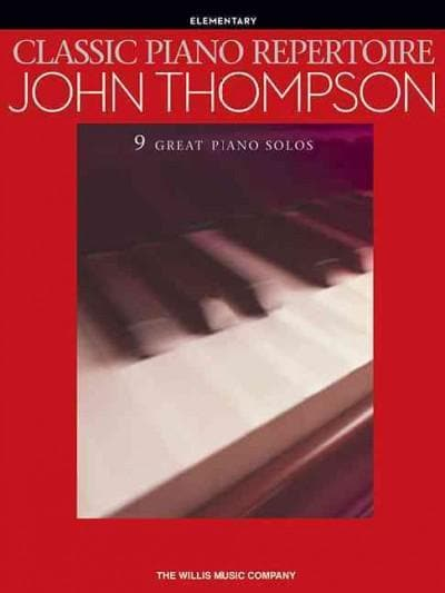 Classic Piano Repertoire: John Thompson - Elementary (Paperback)