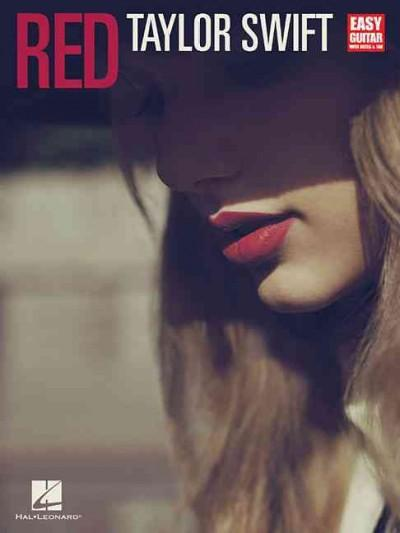 Red: Taylor Swift, Easy Guitar with Notes & Tab (Paperback)