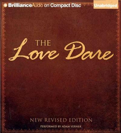 The Love Dare (CD-Audio)