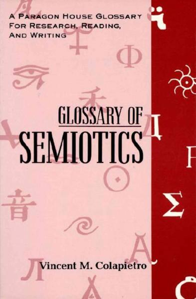 Glossary of Semiotics (Paperback)