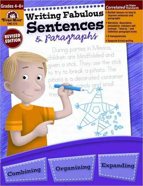 Writing Fabulous Sentences and Paragraphs (Paperback)