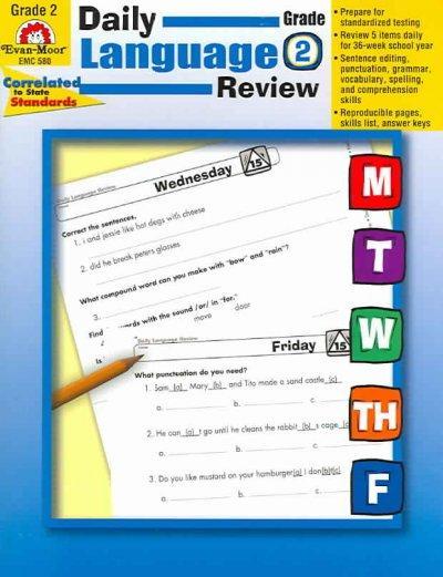Daily Language Review, Grade 2 (Paperback)