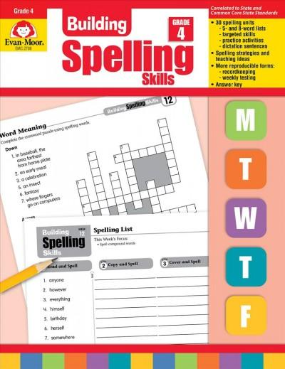Building Spelling Skills: Grade 4 (Paperback)