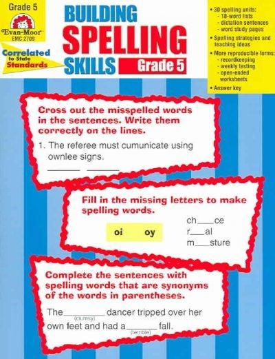 Building Spelling Skills: Grade 5 (Paperback)