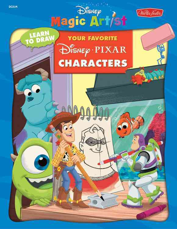 Learn To Draw Your Favorite Disney Pixar Characters (Paperback)