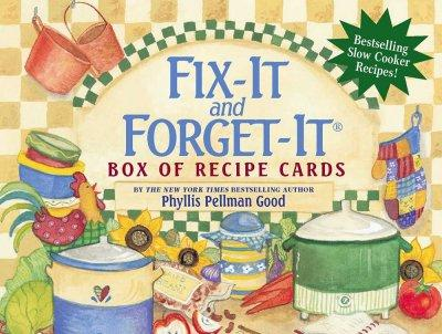Fix-It And Forget-It Box of Recipe Cards (Cards)