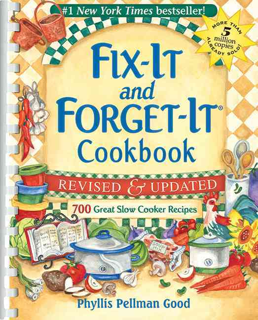 Fix-It and Forget-It Cookbook: 700 Great Slow Cooker Recipes (Paperback) - Thumbnail 0