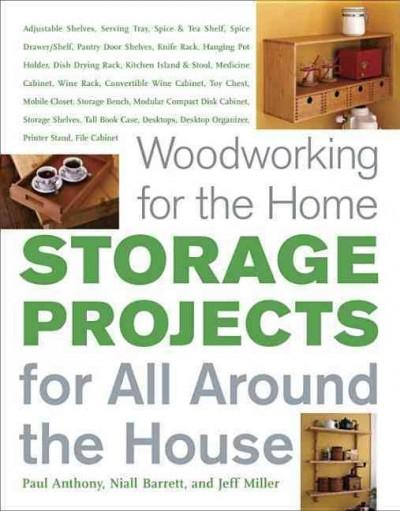 Woodworking For The Home: Storage Projects, for All Around the House (Paperback)