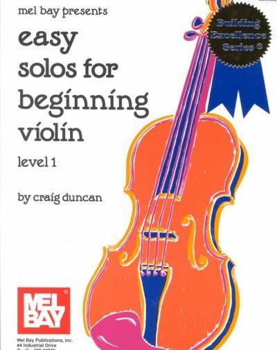 Easy Solos for Beginning Violin (Paperback)