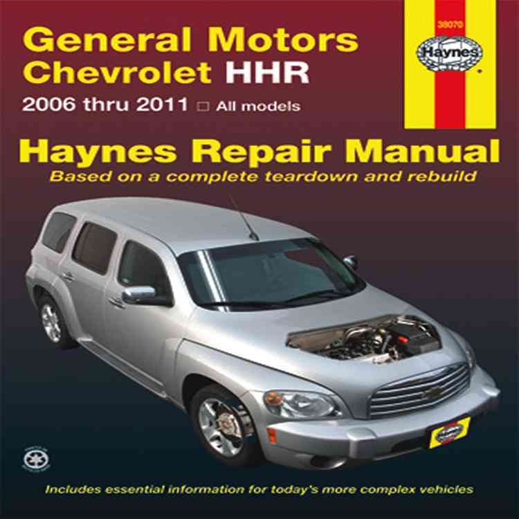 Chevrolet HHR Automotive Repair Manual: All Chevrolet HHR Models 2006 through 2011 (Paperback)