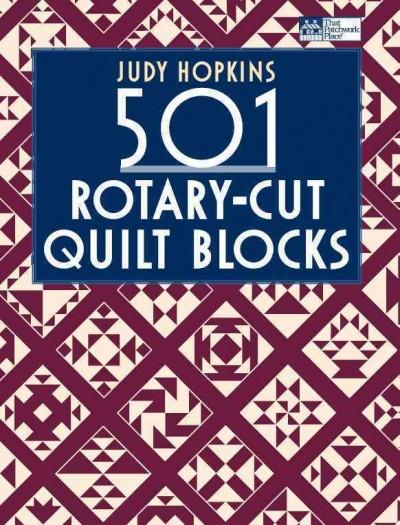 501 Rotary-Cut Quilt Blocks (Paperback)