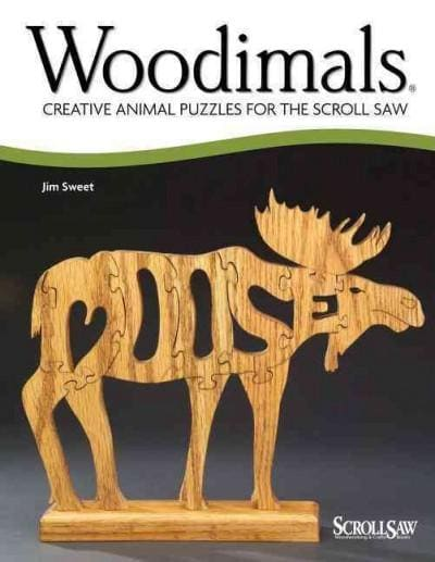 Woodimals: Creative Animal Puzzles for the Scroll Saw (Paperback)