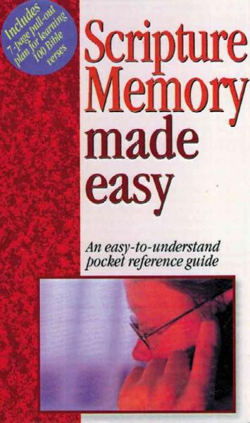 Scripture Memory Made Easy (Paperback)