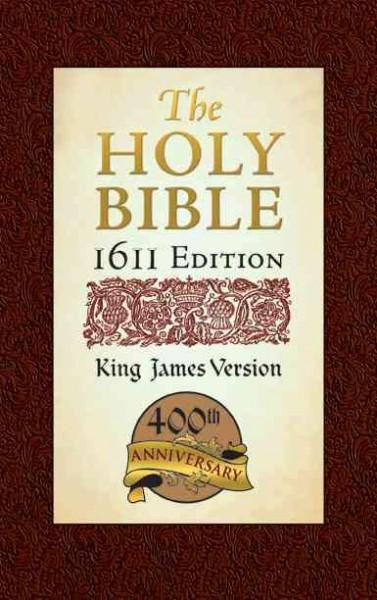 Holy Bible: King James Version, Bonded Leather, 1611 Edition (Hardcover)
