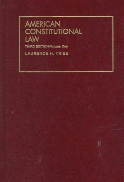 American Constitutional Law (Hardcover)