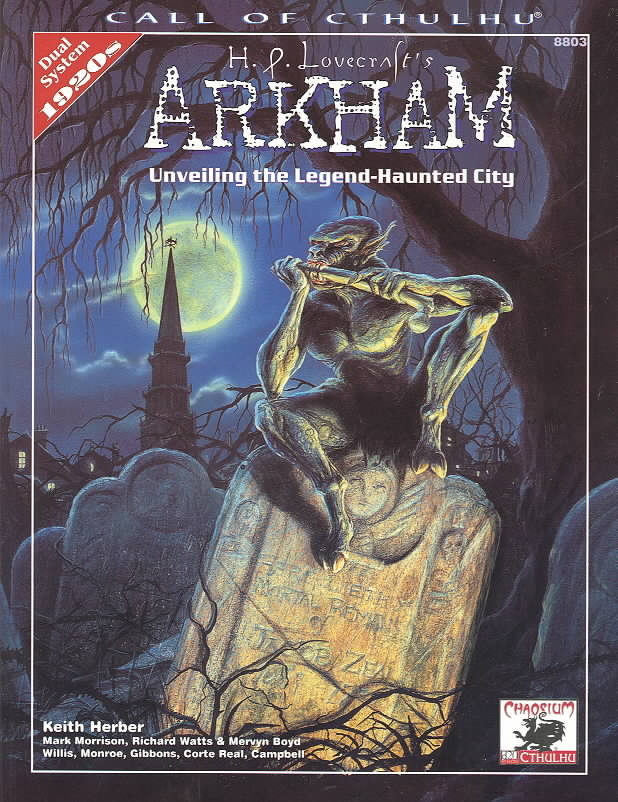 H.P. Lovecraft's Arkham: Unveiling the Legend-Haunted City (Paperback)