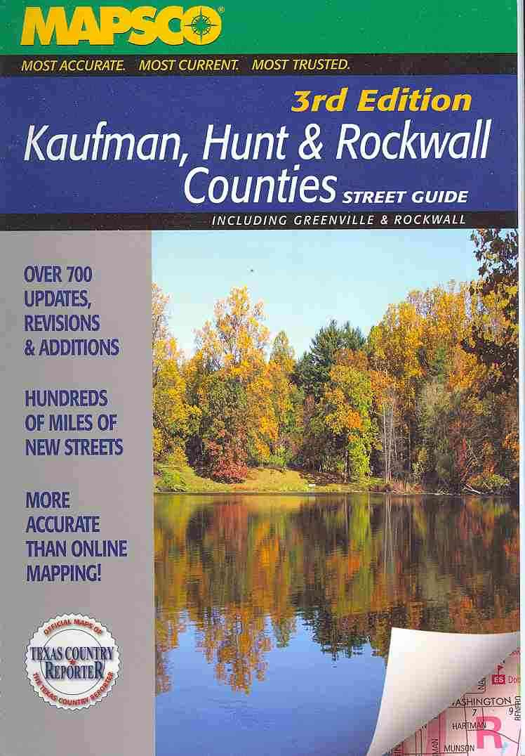 Kaufman, Hunt & Rockwall Street Guide (Hardcover)